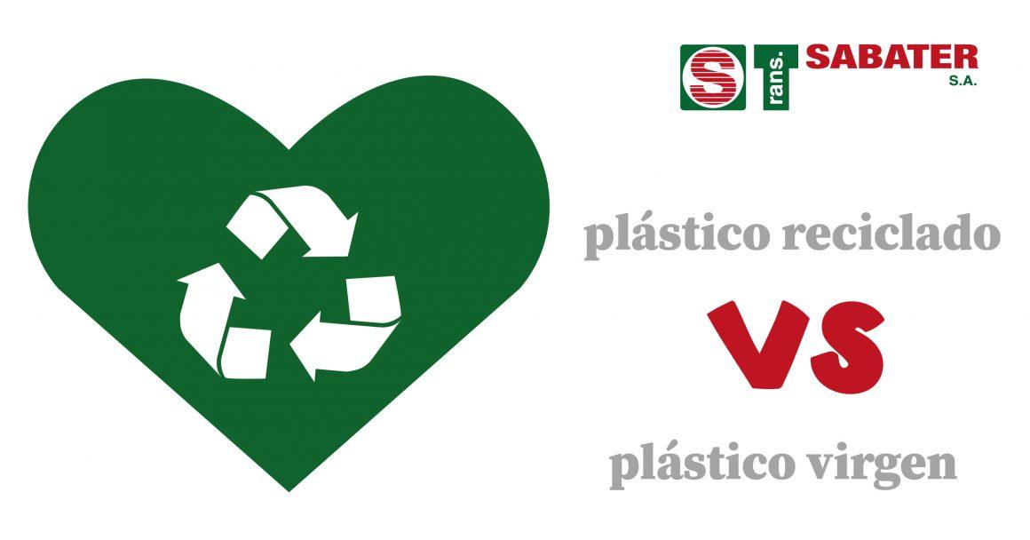 Ventajas del plástico PET reciclado frente al plástico virgen